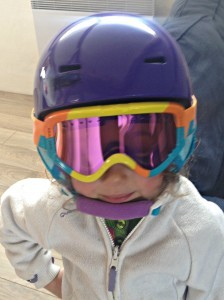 Snowboarding Age 4